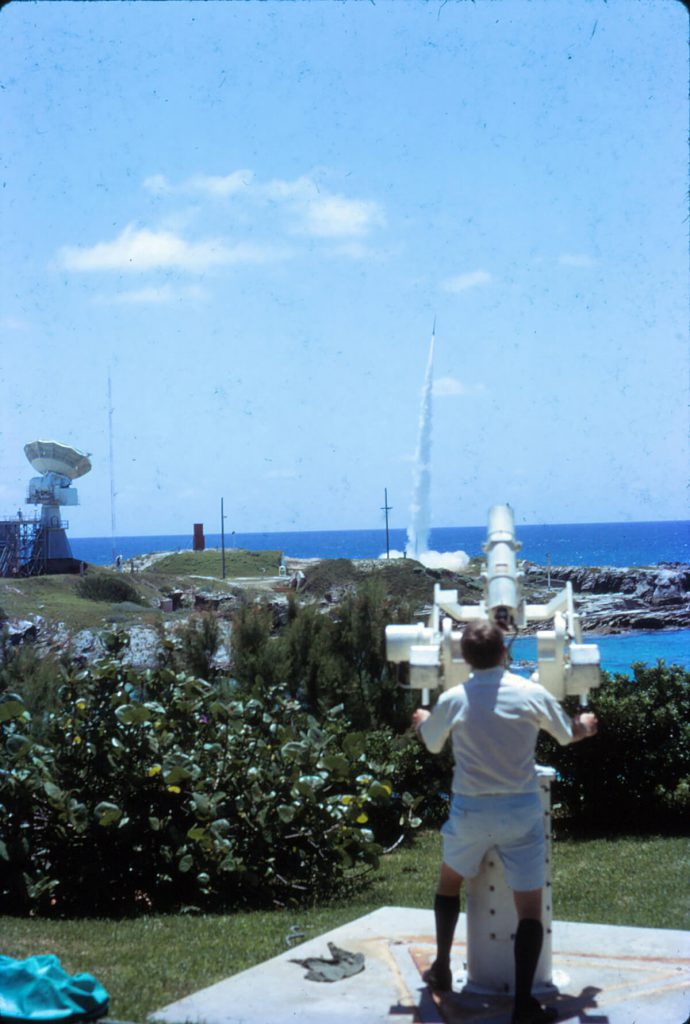 Arcas rocket launch, August 1971 © National Museum of Bermuda