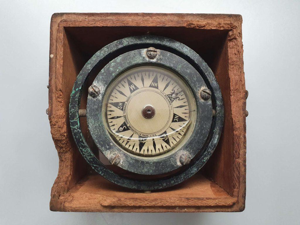 Small box compass, Polaris/Marine Compass © National Museum of Bermuda